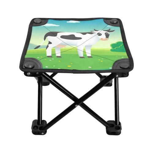 Cute Cow Folding Fishing Stool