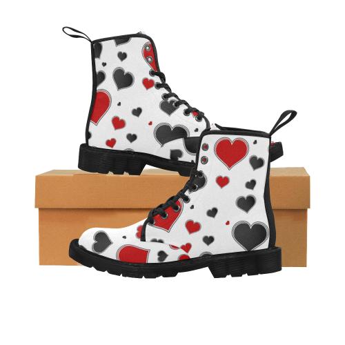 14rb Martin Boots for Women (Black) (Model 1203H)