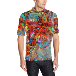 claming the choas 5b Men's All Over Print Polo Shirt (Model T55)