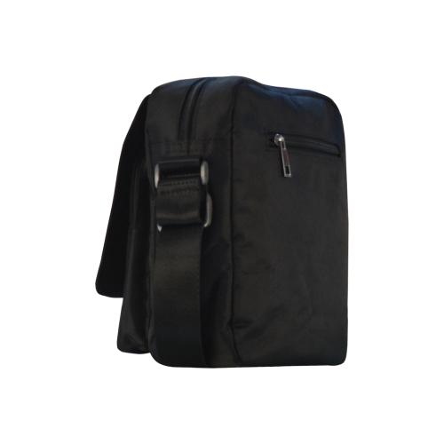 SNAKE OF CREATION WADJET Crossbody Nylon Bags (Model 1633)