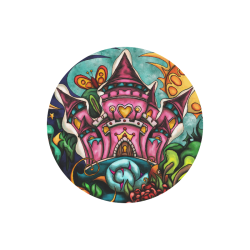 Castle20mo Round Mousepad