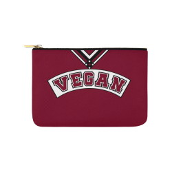 Vegan Cheerleader Carry-All Pouch 9.5''x6''