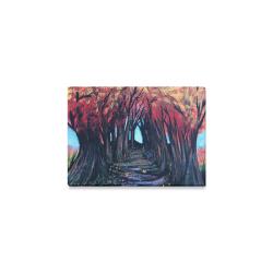 "Autumn Day Canvas Print 7""x5"""