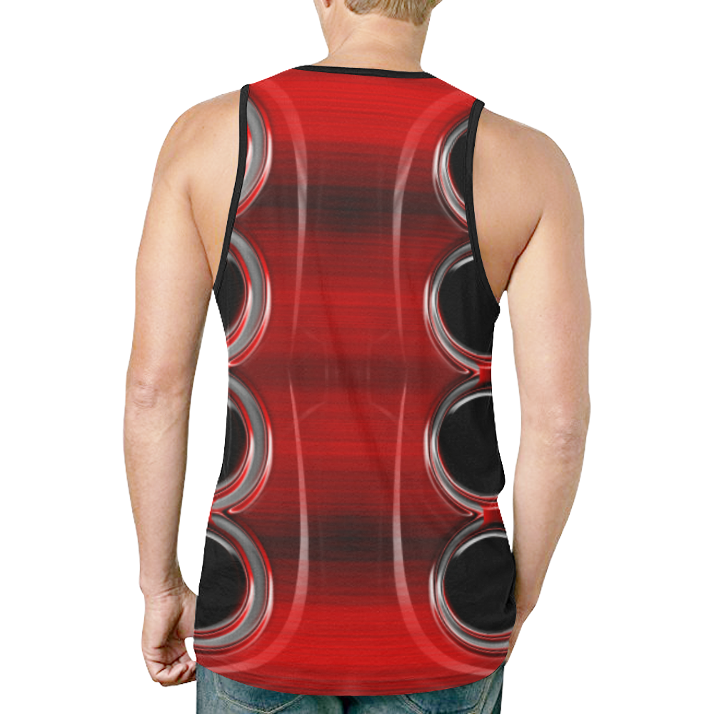 abstract_5500_2019_RBW_76h New All Over Print Tank Top for Men (Model T46)