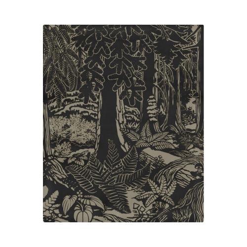 """Canadian Landscape Art Duvet Duvet Cover 86""""x70"""" ( All-over-print)"""