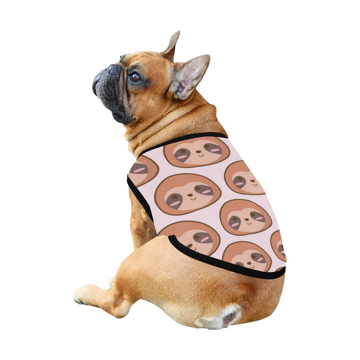 Sloth All Over Print Pet Tank Top
