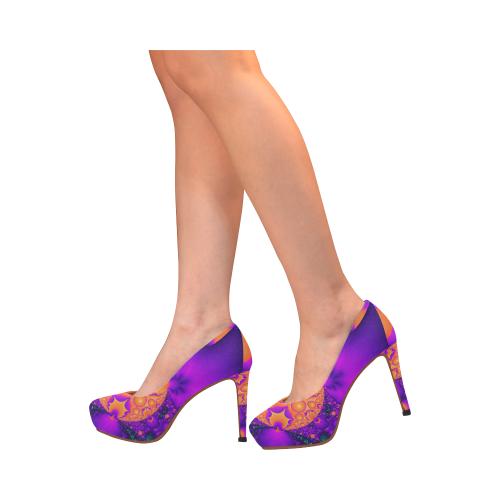 Planetary Clash Women's High Heels (Model 044)