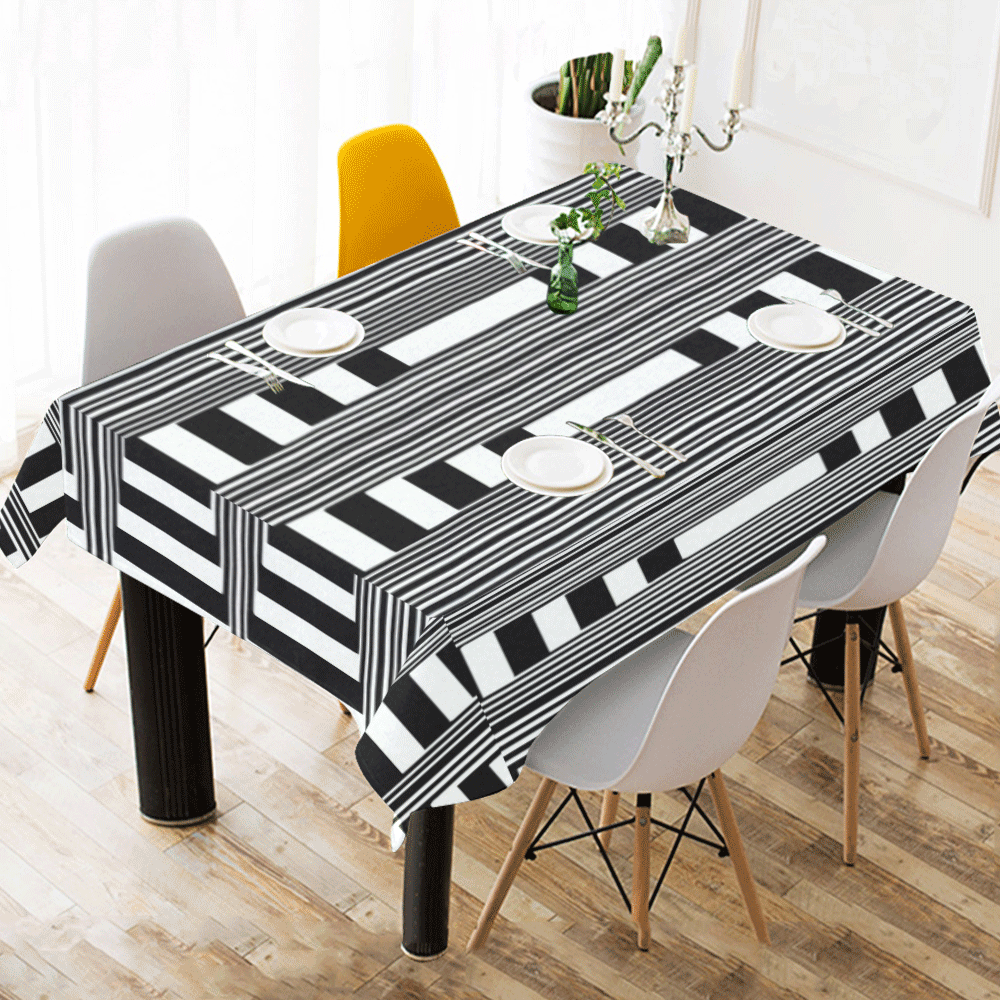 """Can't make up my mind Cotton Linen Tablecloth 60"""" x 90"""""""
