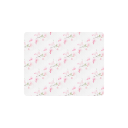 Pattern Orchidées Rectangle Mousepad