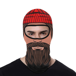Hipster All Over Print Balaclava