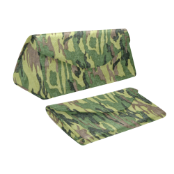 Military Camo Green Woodland Camouflage Custom Foldable Glasses Case