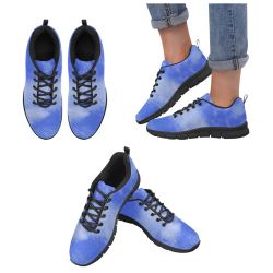 Blue Clouds Women's Breathable Running Shoes/Large (Model 055)