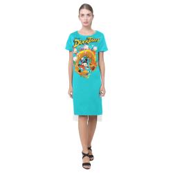 DuckTales Short Sleeves Casual Dress(Model D14)