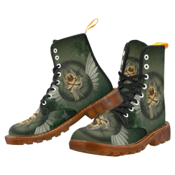 Skull in a hand Martin Boots For Women Model 1203H