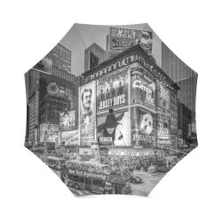 Times Square III Special Finale Edition B&W Foldable Umbrella (Model U01)