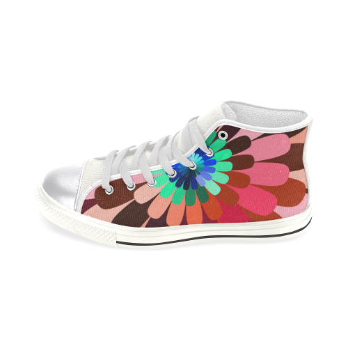zappwaits v3 Women's Classic High Top Canvas Shoes (Model 017)