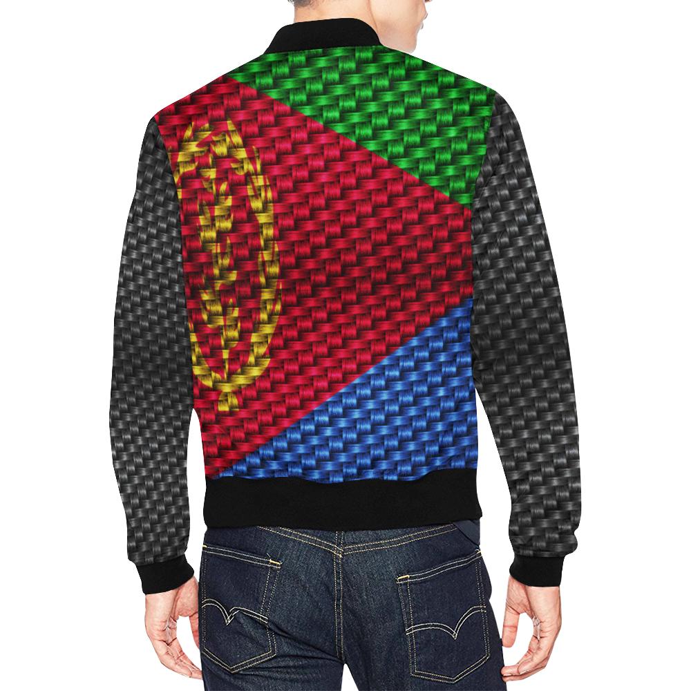 ERITREA All Over Print Bomber Jacket for Men (Model H19)