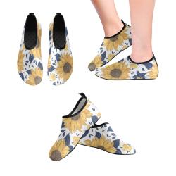 Sunflower Kids Slip on Water Shoes Kids' Slip-On Water Shoes (Model 056)