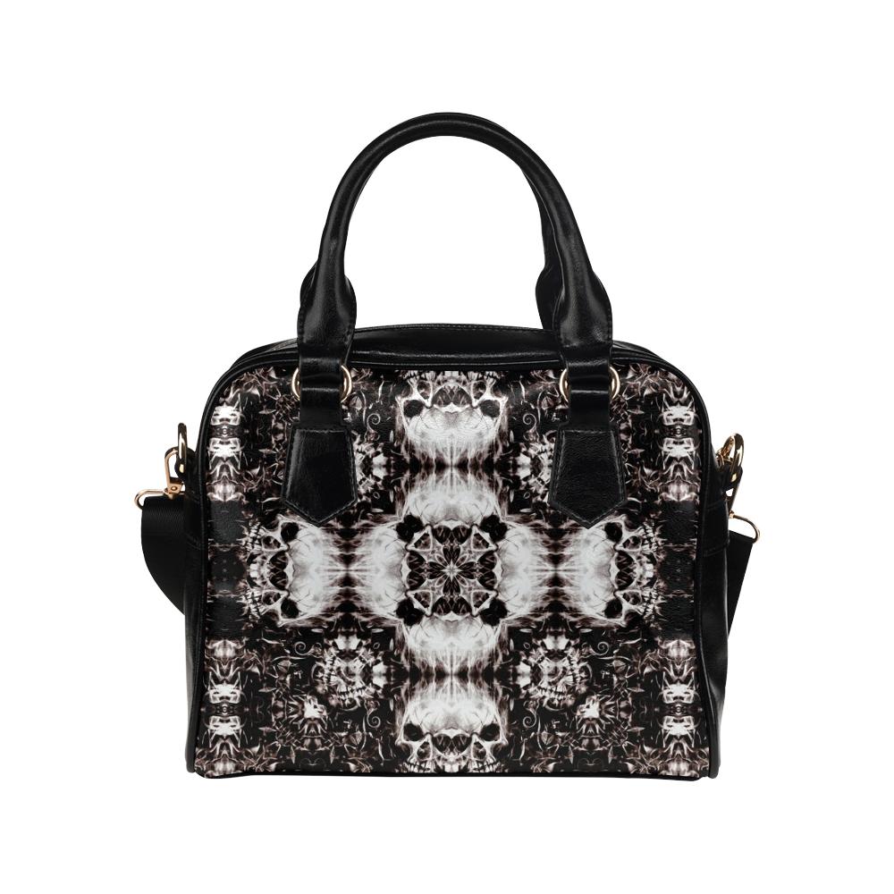 Skulls Shoulder Handbag (Model 1634)