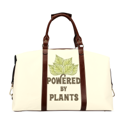 Powered by Plants (vegan) Classic Travel Bag (Model 1643) Remake