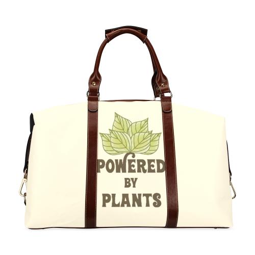 Powered by Plants (vegan) Classic Travel Bag (Model 1643) Remake