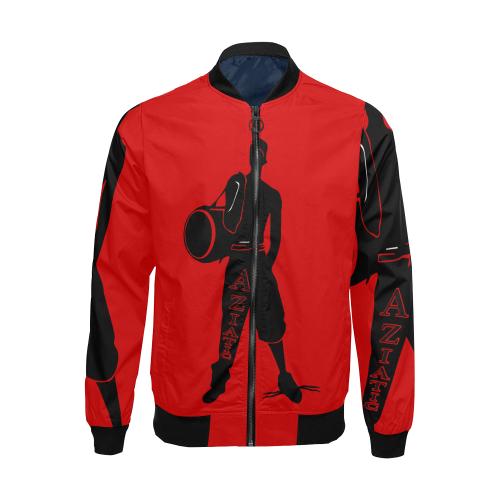 Aziatic Puntarock All Over Print Bomber Jacket for Men (Model H19)