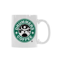 DRUMMER COFFEE MUG | WHITE White Mug(11OZ)
