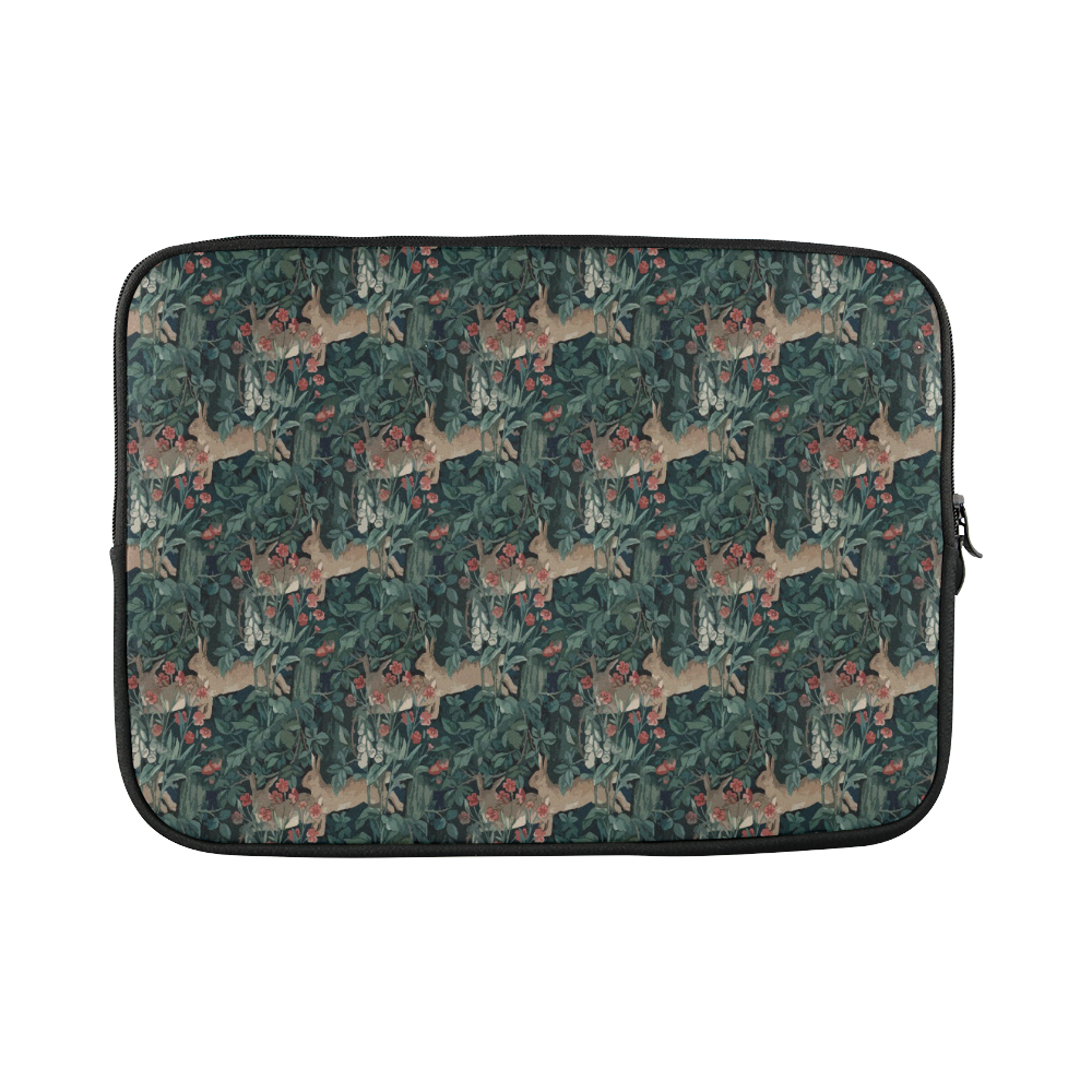 "Bunny medieval tapestry Custom Sleeve for Laptop 15.6"""