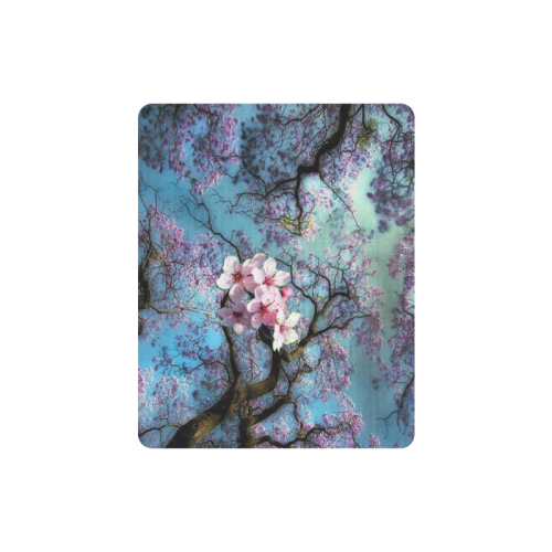 Cherry blossomL Rectangle Mousepad
