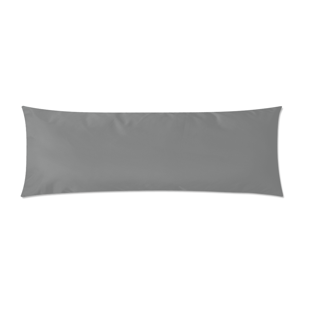 """Winter Cabin - Custom Zippered Pillow Case 21""""x60""""(Two Sides)"""