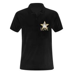 Golf StarLove Men's Polo Shirt (Model T24)