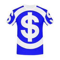 DOLLAR SIGNS 2 All Over Print T-Shirt for Men/Large Size (USA Size) Model T40)