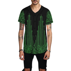 PunkRock All Over Print Baseball Jersey for Men (Model T50)