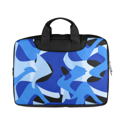 "Camouflage Abstract Blue and Black Macbook Air 15""(Twin sides)"