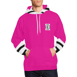 PINKY All Over Print Hoodie for Men (USA Size) (Model H13)