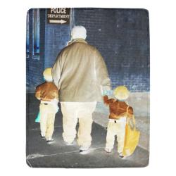 Ghosts roaming the street Ultra-Soft Micro Fleece Blanket 54''x70''