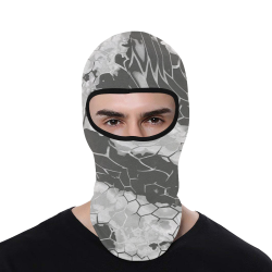 grey dragon reptile snakeskin All Over Print Balaclava