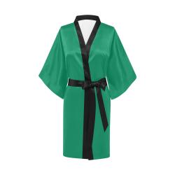 Jelly Bean Green Kimono Robe