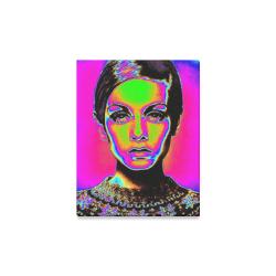 "Pop Art Fashion Canvas Print 11""x14"""