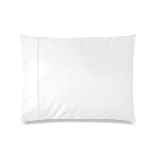 """Brown glossy toned buttons Custom Picture Pillow Case 20""""x26"""" (one side)"""