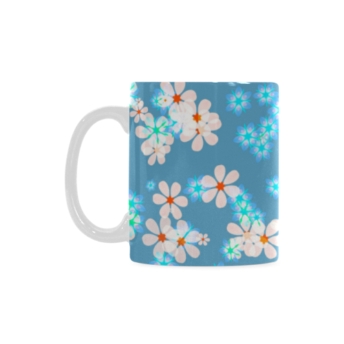 Fresh Flowers White Mug(11OZ)