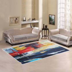 Abstracct Painting Area Rug Area Rug7'x5'
