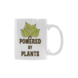 Powered by Plants (vegan) White Mug(11OZ)