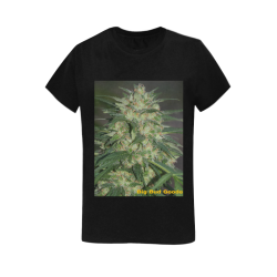 Green Crack Women's T-Shirt in USA Size (Two Sides Printing)