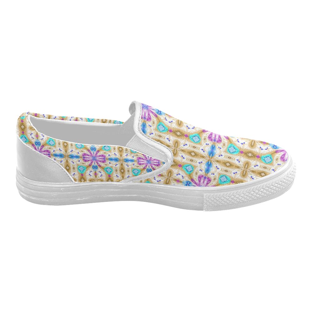 McKenzie's Offroading Adventure Women's Slip-on Canvas Shoes (Model 019)