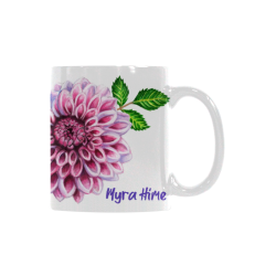 Dahlia by Myra Hime White Mug(11OZ)