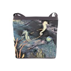 Seahorses Sholder bag Crossbody Bags (Model 1613)