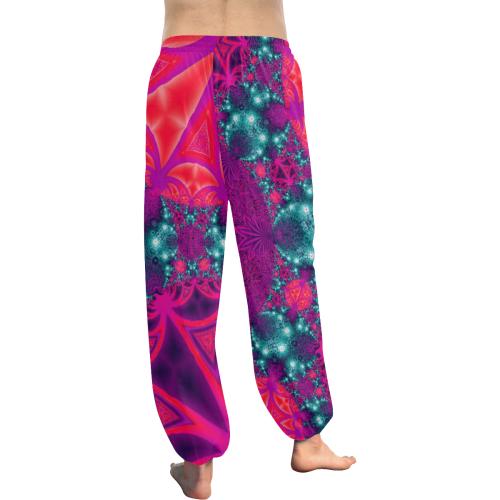 Bright Colourful Tropics Women's All Over Print Harem Pants (Model L18)