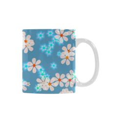 Fresh Flowers White Mug(11OZ)