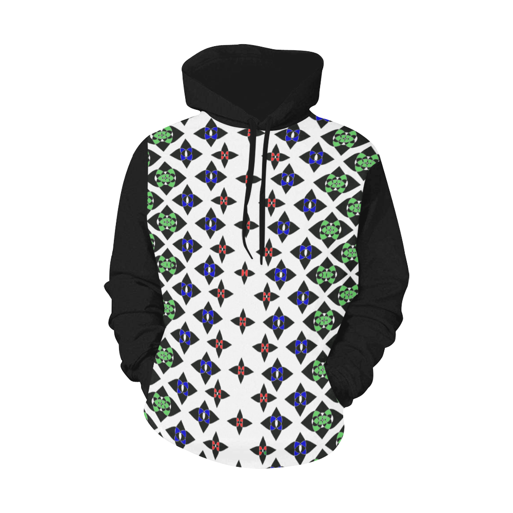 iconic 2 in color All Over Print Hoodie for Men (USA Size) (Model H13)